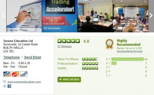 Forex training reviews